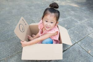 5 Ways to Play With a Cardboard Box