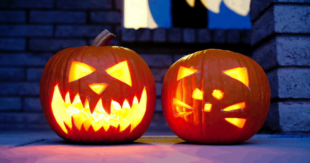 Carve or decorate pumpkins for a safe Halloween during COVID